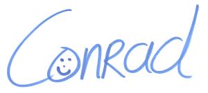 Handtekening - Ezine HPHK - Conrad